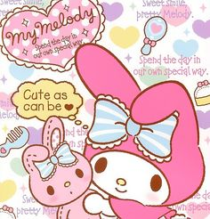 My Melody - Cute As Can Be