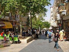 Ben Yehuda St, Jerusalem.  Very cool place