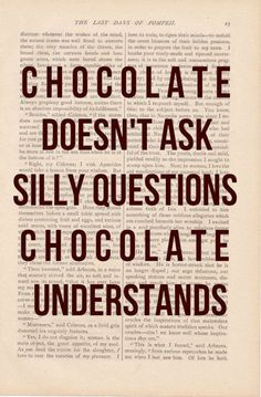 Oh chocolate !