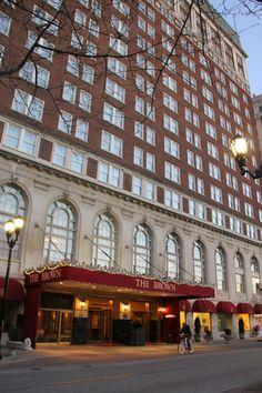 Thrift and Shout blog: Anniversary Trip to Louisville, Kentucky The Brown Hotel