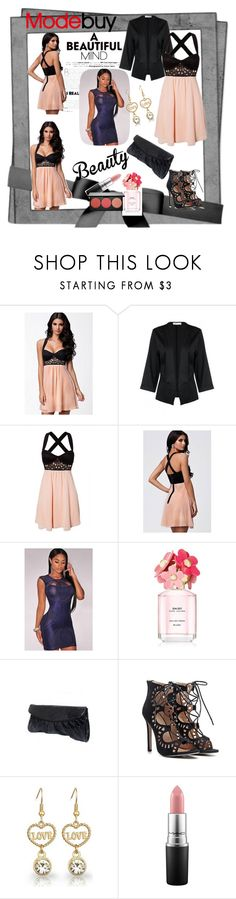 MODEBUY by azemina-moda on Polyvore featuring Smashbox, MAC Cosmetics, Marc Jacobs and modebuy