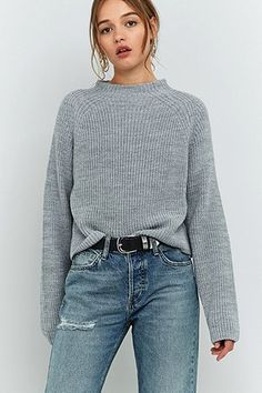New spring staple. Fisherman jumper from Urban Outfitters.
