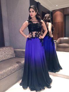 Gala Dresses, Bridal Dresses, Nice Dresses, Evening Dresses, Kurti Designs Party Wear, Lehenga Designs, Indian Gowns, Indian Attire, Celebrity Outfits