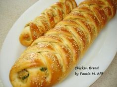 The chicken bread is one of my favourite braided and stuffed breads. Below are the step by step instructions with pics on how to make the recipe.