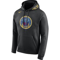 the latest 3df7f 97fdf Golden State Warriors Nike Men s City Edition  The Bay  Chinese Heritage  Pullover Club Hoodie - Black