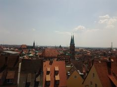 Nürnberg w Bayern