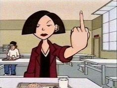 A Ranking Of 24 Ultimate Boss Bitches - Best of Memes Riot Grrrl, Daria Morgendorffer, Arte Dope, Animation, The Villain, My Mood, Current Mood, Anime, Reaction Pictures
