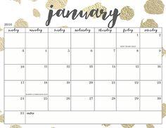 Oh So Lovely Blog: Free Printable 2016 Calendars 20+ Options!