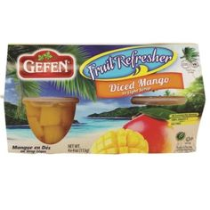 Gefen Dcf Mango Fruit Cups (6x4pack)