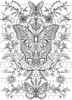 kolorowanki dla dorosłych Make your world more colorful with free printable coloring pages from italks. Our free coloring pages for adults and kids. Butterfly Coloring Page, Mandala Coloring Pages, Animal Coloring Pages, Coloring Pages To Print, Free Coloring Pages, Coloring Sheets, Coloring Books, Coloring Pages For Grown Ups, Printable Adult Coloring Pages