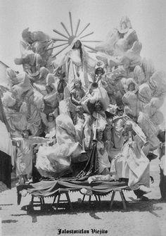 Representacion de la Virgen en Jalostotitlan Jalisco Mexico