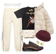 """""""Untitled #427"""" by youraveragestyle ❤ liked on Polyvore featuring Cartier, NIKE, Herschel Supply Co., MANGO, Sarah Chloe, Marco Bicego, Yves Saint Laurent, Luna Skye, Louis Vuitton and Béton Ciré"""