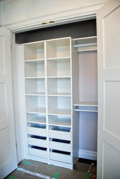Better use of closet space!