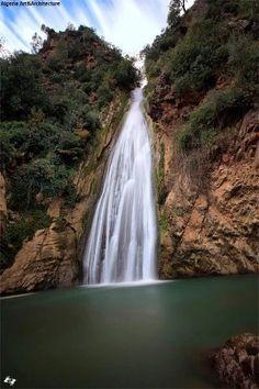 Les cascades de keferida , Bejaia , Algeria