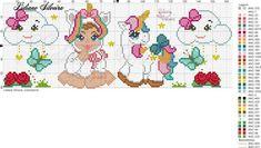 Cute Cross Stitch, Cross Stitch Patterns, Pixel Beads, Graph Paper, New Crafts, Plastic Canvas, Perler Beads, Ladybug, Pony