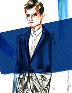 Illustration.Files: Bespoken S/S 2015 Fashion Illustrations by Meagan Morrison