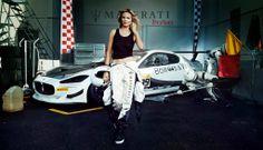 #Maserati i Heidi Klum - razem w sesji z okazji jubileuszowego wydania Sports Illustrated Swimsuit...#heidiklum