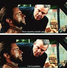 X-Men Origins: Wolverine -- love this line!