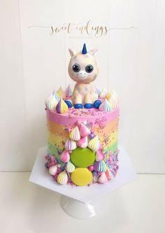 Beanie Boo Alicorn cake by How To Make A Unicorn Cake, Diy Unicorn Cake, Unicorn Cake Pops, 10th Birthday, Unicorn Birthday, Baby Birthday, Birthday Cakes, Birthday Ideas, Beanie Boo Party