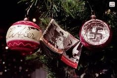 Chilling images of Hitler celebrating Christmas & decorations inspired by the Nazis