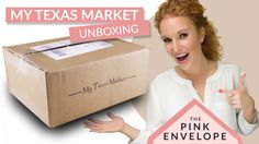 My Texas Market Review, My Texas Market Unboxing, My Texas Market, Texas theme subscription box, Texas subscription box, food subscription box
