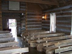 Inside Wilderness Church by Adventurer Dustin Holmes, via Flickr
