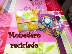 RECICLAJE: Monedero de una caja de leche/ coin purse with a tetra pack - YouTube