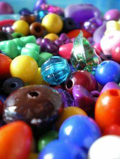 bunte Perlen von Motley