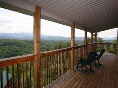 Tennessee Lodge - This is a 9 bedroom cabin with a view that is amazing! Perfect for your large group vacation to the Smokies! http://americanmountainrentals.com/cabin-detail/?cid=64#image-2