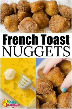 Kids Meals French Toast Nuggets are a fun and easy lunch idea that kids can make themselves. Dipped in egg, fried crispy brown and dusted with sugar and cinnamon, this finger-food version of French Toast is a lunch-time favourite for kids of all ages. Breakfast Desayunos, Breakfast For Kids, Breakfast Finger Foods, Birthday Breakfast, Kids Breakfast Recipes, Healthy Kids Breakfast, Yummy Breakfast Ideas, Delicious Breakfast Recipes, Wedding Breakfast
