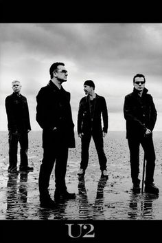 U2, fave band of all time.