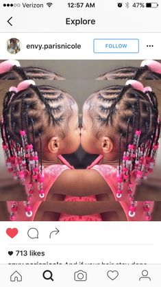 ◀Previous Post Next Post▶ The post appeared first on Toddlers Diy. Lil Girl Hairstyles Braids, Little Girls Natural Hairstyles, Toddler Braided Hairstyles, Black Girl Braided Hairstyles, Mixed Kids Hairstyles, Toddler Braids, Children Hairstyles, Little Girl Braids, Girls Braids