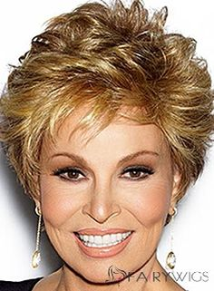 Human Hair Blonde Short Wigs 8 Inch Lace Front Wavy