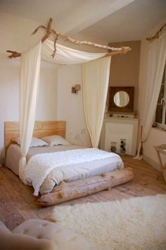 outstanding 43 Best DIY Bedroom Canopy for Those Renting Apartment