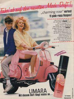 vongestern Blog: Limara - Werbungen 1984 bis 1987
