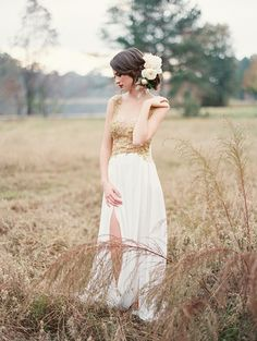 Field of Dreams Editorial by Brandi Smyth Hair, dress, make up...perfection!