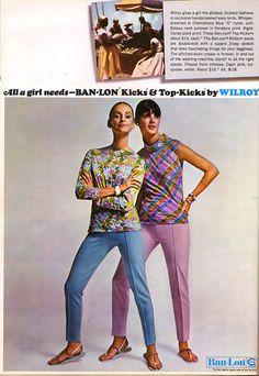 Ban-Lon - Wilroy - Fashion - 1966 - Katherine Carpenter