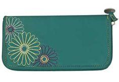 Checks Unlimited Ladies Wallet - Teal 776468,  #RFID Wallets