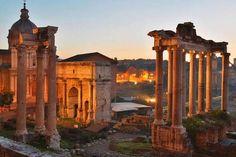Leçon d'histoire à #Rome la ville éternelle #italie #antiquite