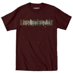 IH Overlapping Camo Men's Shirt This dark brown graphic tee is the perfect companion for your next hunting, fishing or camping trip. International Harvester camo graphic at front. Made of 100% cotton. #InternationalHarvester #camo #camouflage #hunting #fishing #camping #cotton