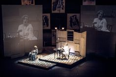 Baden Baden 1927. Gotham Chamber Opera. Scenic design by Court Watson, lighting by Driscoll Otto.