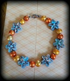 Check out this item in my Etsy shop https://www.etsy.com/listing/250635440/handmade-fall-inspired-beaded-bracelet