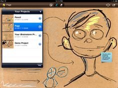 iBrainstorm.  iPad/iPhone app that allow users to capture and share notes.