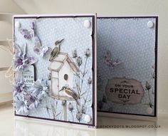 Craftwork Cards Blog: In An English Country Garden tri fold card by Emma Williams