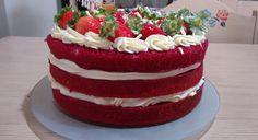Red Velvet Naked Cake - made by Doce Saudade
