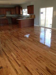 red oak with oil based finish