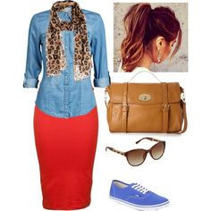"""Casual Monday ◆ Apostolic Pentecostal Fashion ◆"
