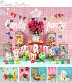 Les Ambiances de Bianca and Family : Candy Party