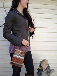 "Cell Phone Purse Crossbody Bag Mobile Phone Pouch Medium Size Cross Body Handbag Hip Bag - ""Tuscannette"" - Inside Pocket - Fashion Bag"