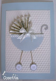 Scrap of mind: Una pin al mese #3 - Card carrozzina